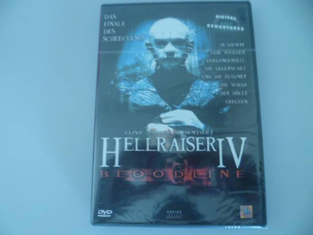 HELLRAISER IV -  1. Auflage