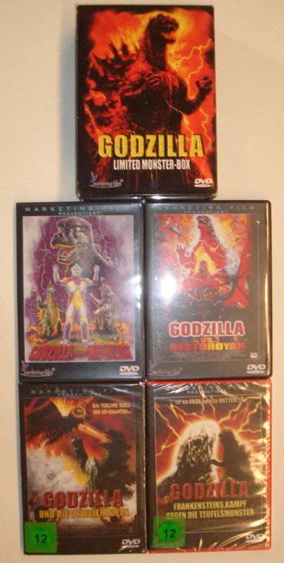Godzilla Limited Monster Box 1