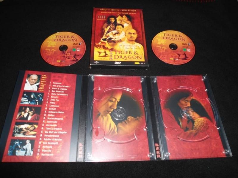 TIGER & DRAGON - 2 DVD lim. Digipack - Arthaus - Asia - TOP
