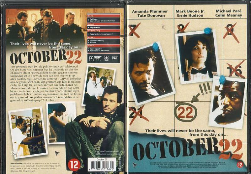 October 22(290678, Englische Sprache, NEU)