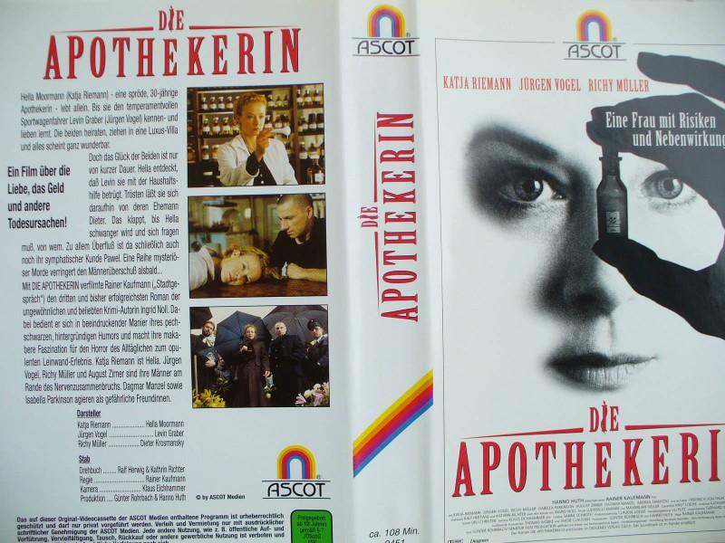 Die Apothekerin ...Katja Riemann, Jürgen Vogel, Richy Müller