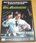 Re-Animator signierte US DVD