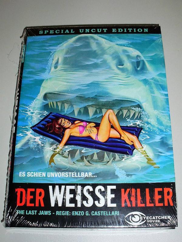Last Jaws - DER WEISSE KILLER +++Uncut+++ MEGA rare HAI-DVD