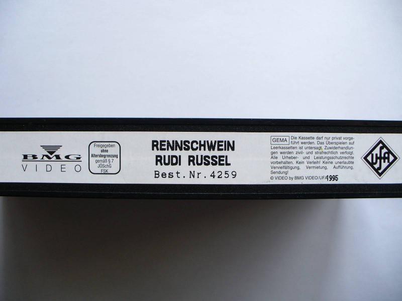 Rennschwein Rudi Rüssel ... Ulrich Mühe  ... ohne Cover !