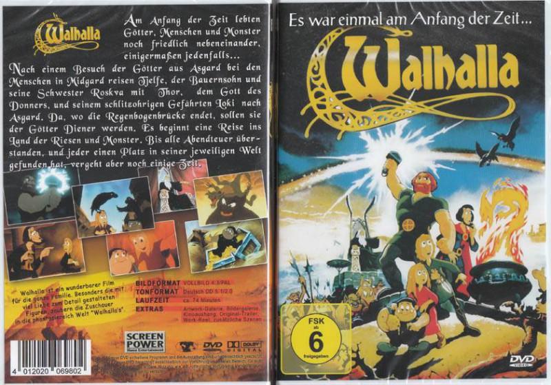 Walhalla Danemark Zeichentrick Wikinger Fantasy Klassiker Kaufen