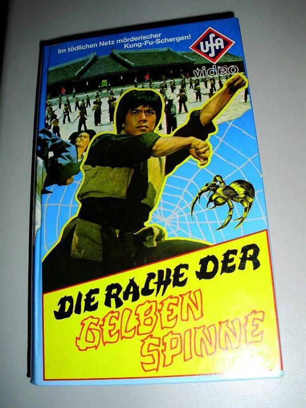 UFA-Rarität 1982: DIE RACHE DER GELBEN SPINNE +Kung Fu+ TOP