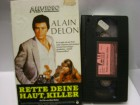 A 494 ) All Video Alain Delon in Rette Deine Haut Killer