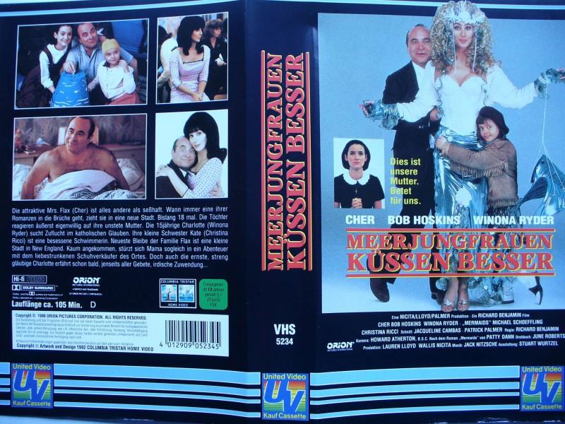 Meerjungfrauen küssen besser ... Cher, Bob Hoskins