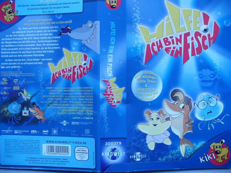 Hilfe ! Ich bin ein Fisch ...  Zeichentrick !!