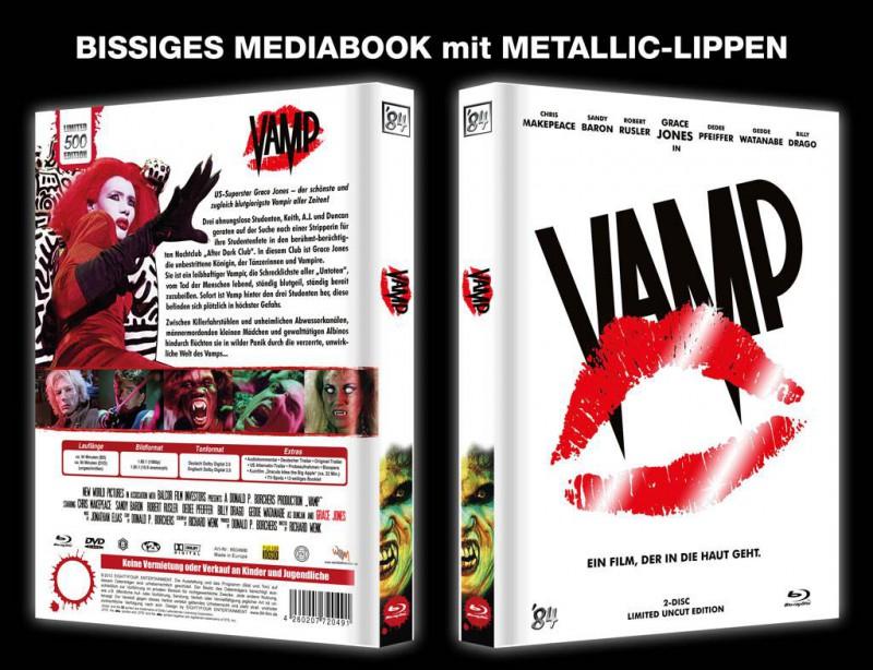 VAMP - 2-Disc Limited Uncut Edition - Mediabook B 84 NEU/OVP