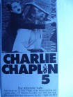 Charlie Chaplin 5 ...   Pappschuber !!!