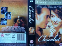Chocolat ... Johnny Depp, Juliette Binoche ... Engl. Version