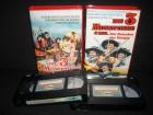 Die 3 Musketiere Teil 1 + 2 VHS Eurovideo Bavaria
