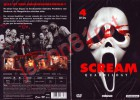 Scream Quadrilogy 1,2,3,4 / DVDs NEU OVP uncut