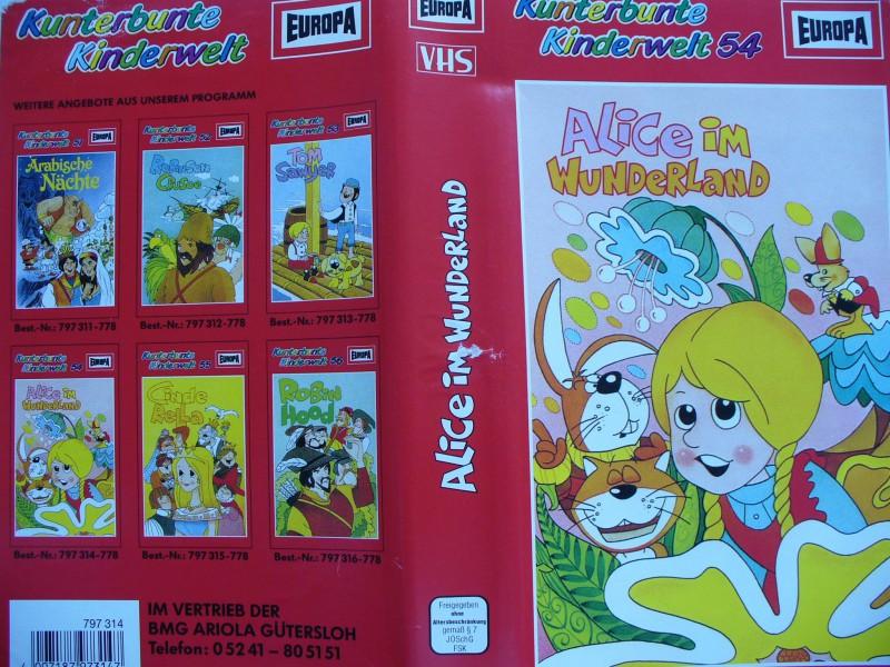 Alice im Wunderland ... Trickfilm !!