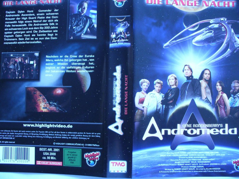 Andromeda - Die lange Nacht   ...   VHS !!!