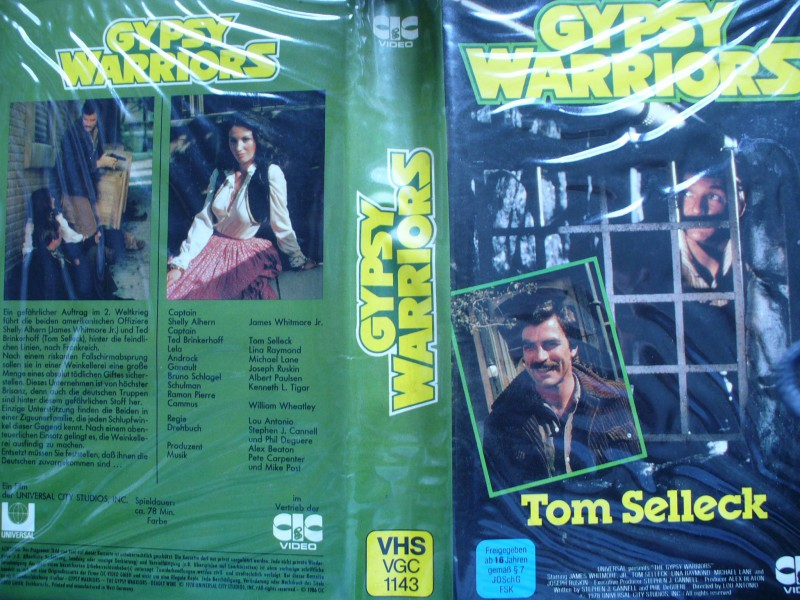 Gypsy Warriors ...  Tom Selleck, Lina Raymond, Michael Lane