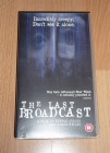 The Last Broadbcast VHS Blair Witch Project Vorg�nger