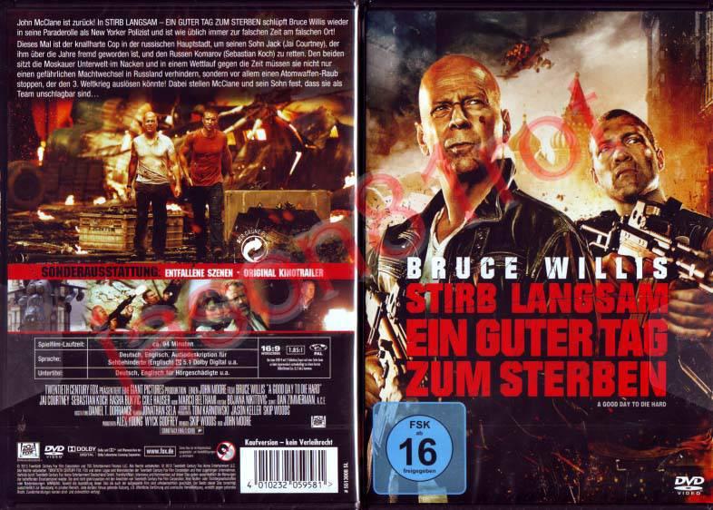 Stirb Langsam 5 Ein Guter Tag Zum Sterben Bruce Willis Kaufen Filmundo