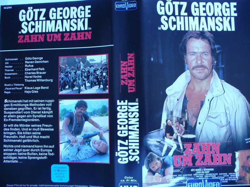 Schimanski - Zahn um Zahn ... Götz George
