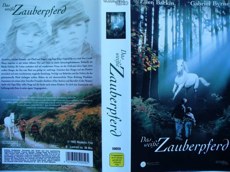 Das weiße Zauberpferd ... Ellen Barkin, Gabriel Byrne