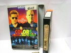 A 433 ) RCA Colors Farben der Gewalt mit Sean Penn , Robert