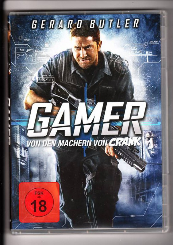 Gamer - Gerard Butler  DVD