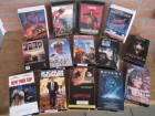 NTSC-US VHS Videosammlung 14 x uncut Action & Horror