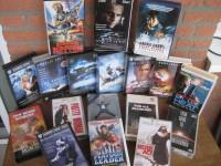 VHS Videosammlung 18 x Action, SF, Comedy, Thriller & Drama