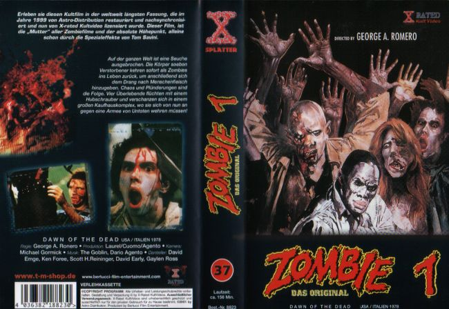 Zombie - Dawn of the Dead / Zombies im Kaufhaus, X-Rated!!!!