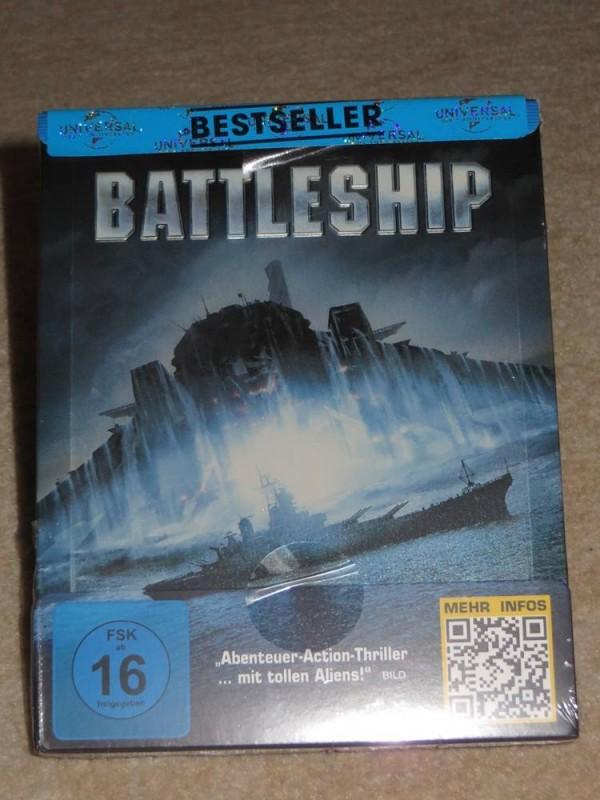 Battleship - Steelbook Blu-ray  Neu & OVP