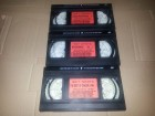 3 VHS `` Double Penetr. + Bra Breakers #2 + The Best of Ging