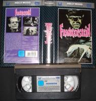 Frankenstein - CIC Hollywood Collection - VHS - Boris Karlof