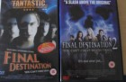 2 x Final Destination Uncut DVDs 1 + 2
