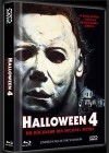 HALLOWEEN 4 (DVD+Blu-Ray+CD) - Cover A - Mediabook NEU/OVP