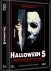 HALLOWEEN 5 (DVD+Blu-Ray+CD) - Cover B - Mediabook NEU/OVP