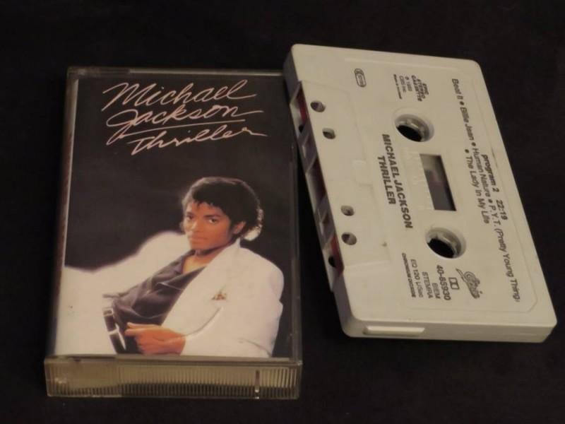 Michael Jackson  - Thriller  org. MC  EPIC 1982