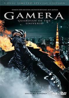 Gamera 1 Guardian of the Universe - BD Mediabook - Neu/OVP