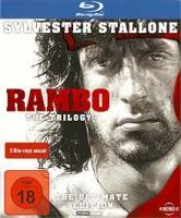 Rambo Trilogy 1-2-3 - uncut Blu Ray
