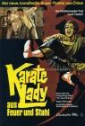 Plakat A3+ KARATE-LADY AUS FEUER UND STAHL (1973)