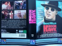 Hudson Hawk - Der Meisterdieb ... Bruce Willis ...  VHS !!!