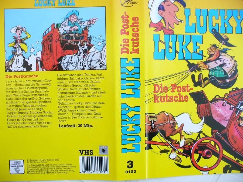 Lucky Luke ... Die Postkutsche