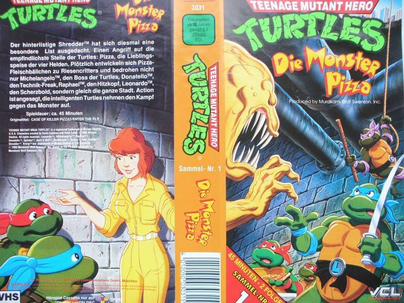Teenage Mutant Hero Turtles ...  Die Monster Pizza
