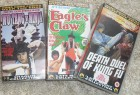 3 x Eastern Heroes VHS - UK - Importe extrem RAR Shaolin