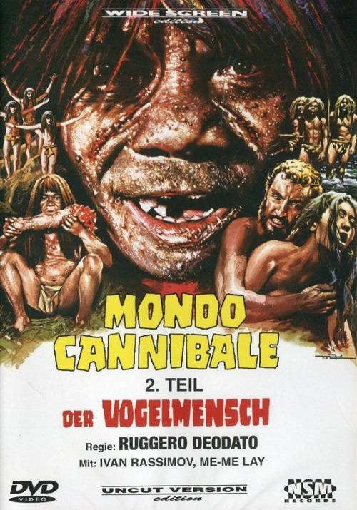 MONDO CANNIBALE 2 – DER VOGELMENSCH (Cover C) NEU/OVP