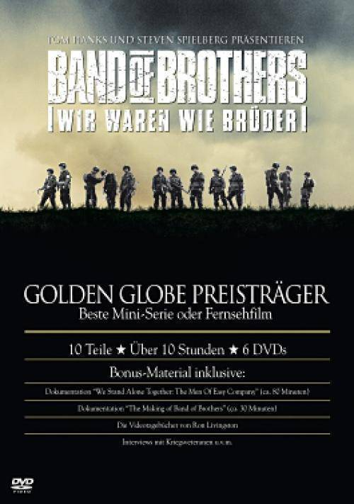 Band of Brothers - Wir waren wie Brüder - 6 DVD Box