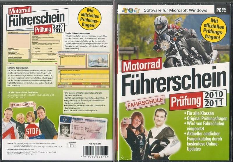 PC Motorrad Führerschein (28063652NEU, OVP)