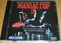 MANIAC COP 2  SOUNDTRACK CD