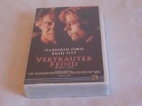 HARRISON FORD BRAD PITT VERTRAUTER FEIND  VHS