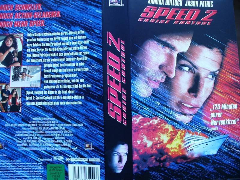 Speed  2  ...  Sandra Bullock, Jason Patric ...  VHS !!!